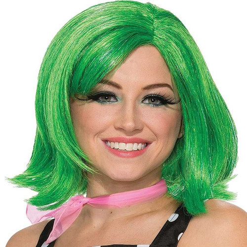 Pixie vert fille perruque
