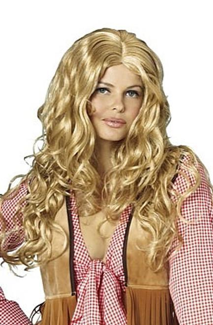 Sensuel Honey Blonde perruque