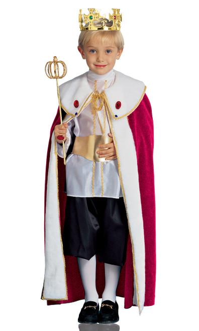Robe du Prince Roi Majestueux pour Enfant