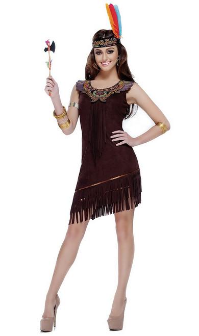 Costume de Beauté Amérindienne