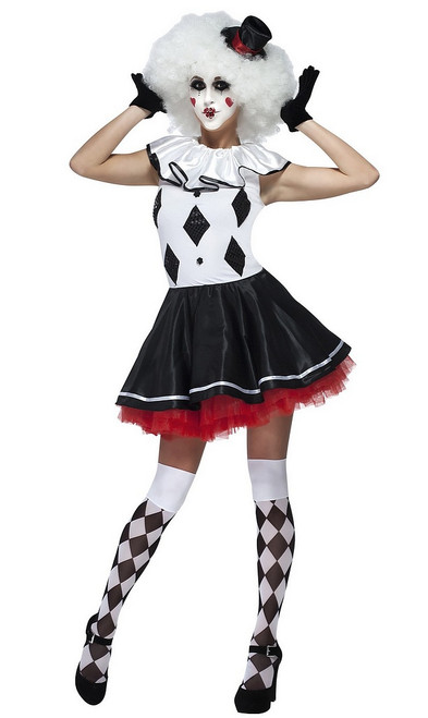 Costume du Clown Arlequin