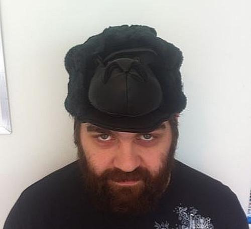 Peluche Gorilla Head Hat