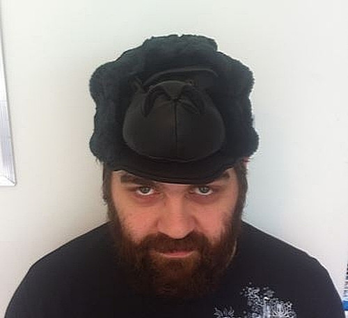 Peluche Gorilla Head Hat