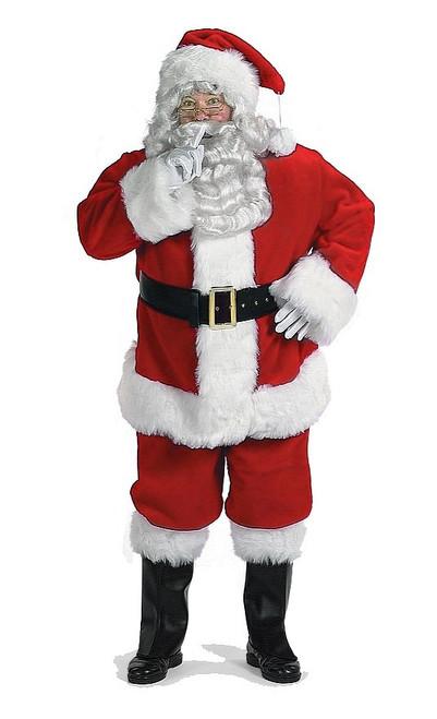 Costume Deluxe Professionnel de Père Noël