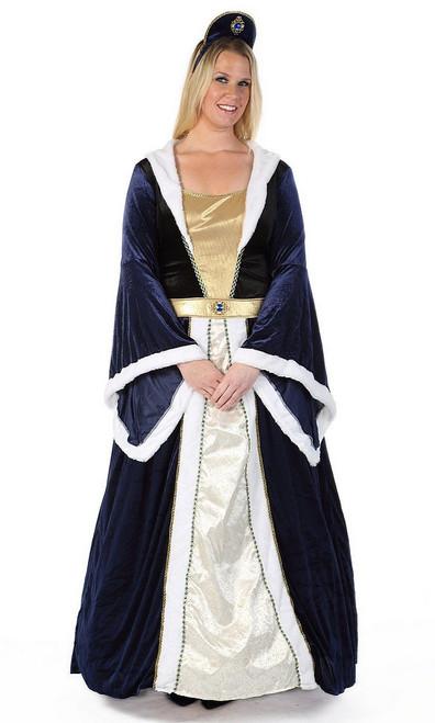 Costume Élégant de l'Impératrice Taille Plus
