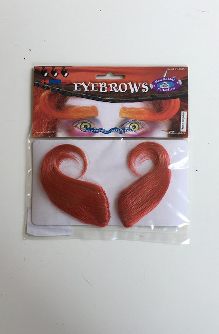Mad Hatter Sourcils orange