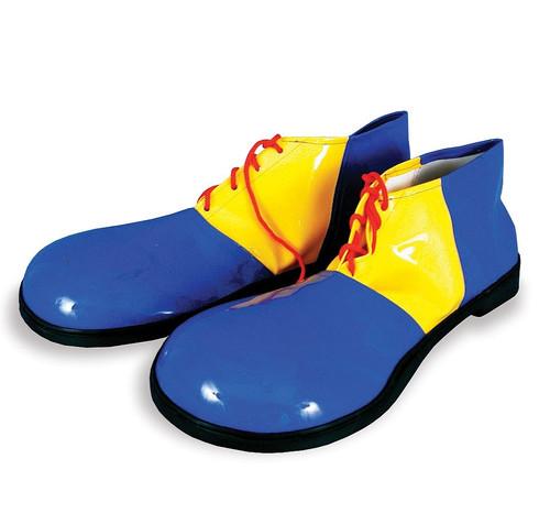 Chaussures Bleu / Jaune Grand Clown