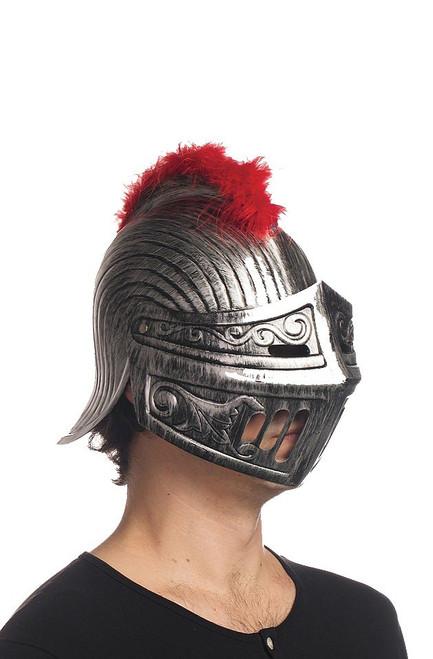 16 Casque chevalier Argent