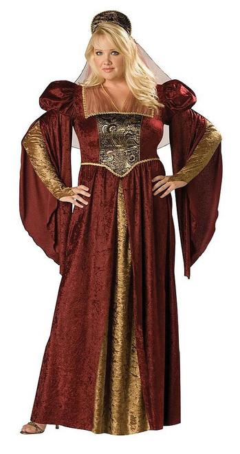 Costume de la Jeune Fille de la Renaissance Taille Plus