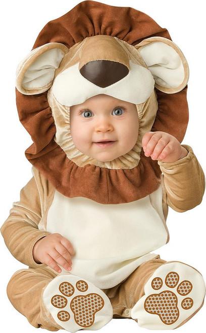 Costume Petit Lion en Peluche