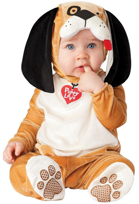 Costume de chiot adorable pour bébé