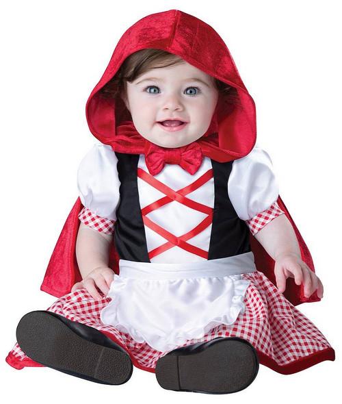Costume du Magnifique Petit Chaperon Rouge pour Nourrisson
