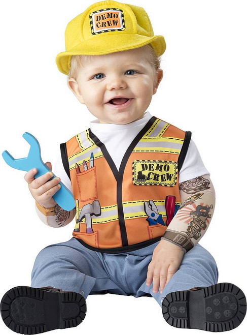 Costume de l'Équipe de Démolition pour Bébé