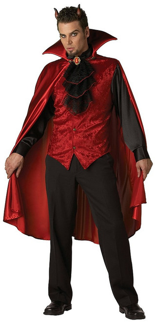 Costume de diable fringant