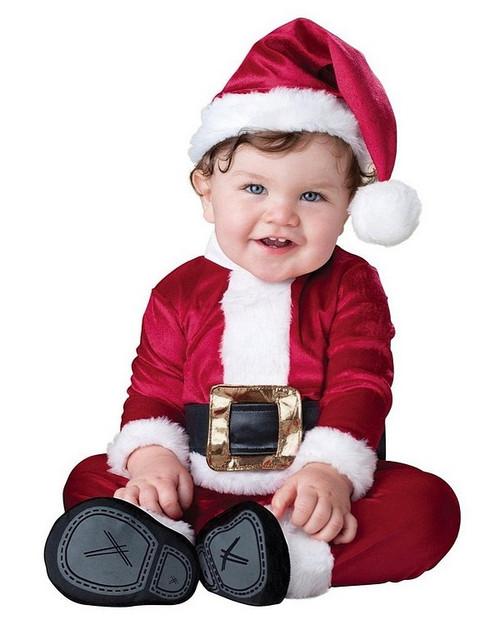 Père Noël costume bébé
