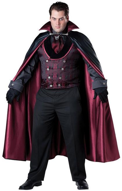 Costume de Vampire  Comte de minuit Taille plus