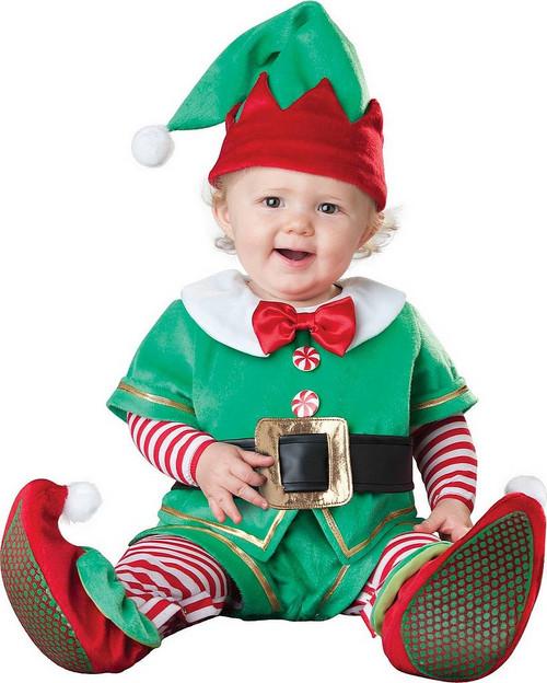 Déguisement du Petit Lutin du Père Noël