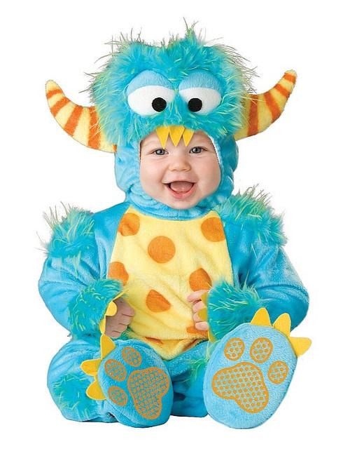 Costume de Petit Monstre pour Tout-Petits