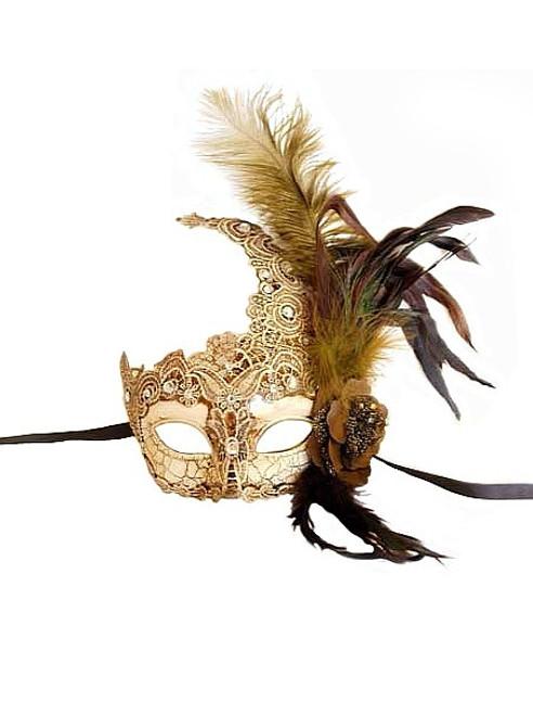 Masque d'Ivoire Dentelle de Venise