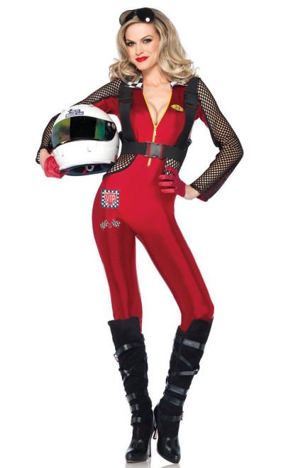 Costume Jolie Pilote de Course