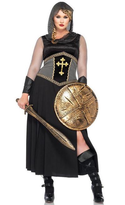Costume de Jeanne d'Arc Taille Plus