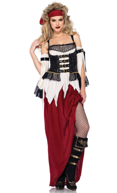Costume de pirate du trésor enterré
