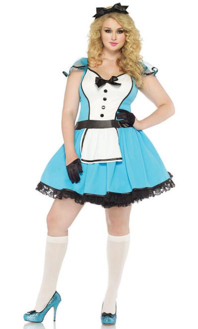 Costume de Alice aux Pays des Merveilles Taille Plus