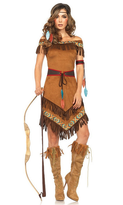 Costume de Pocahontas