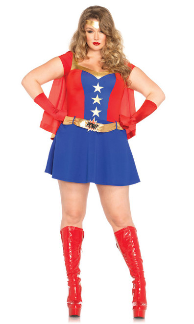 Costume Wonder Woman BD Taille Plus
