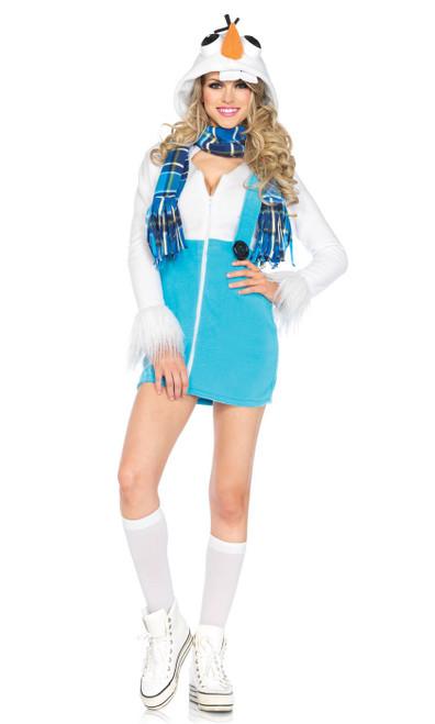Costume Douillet d'Olaf le Bonhomme de Neige