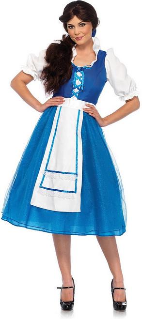 Costume Classique de Belle Villageoise