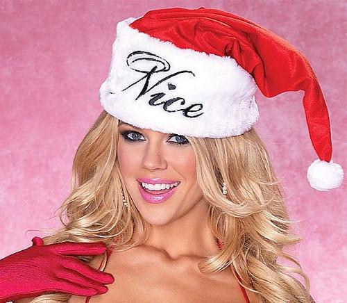 Nice / Méchant Chapeau de Père Noël