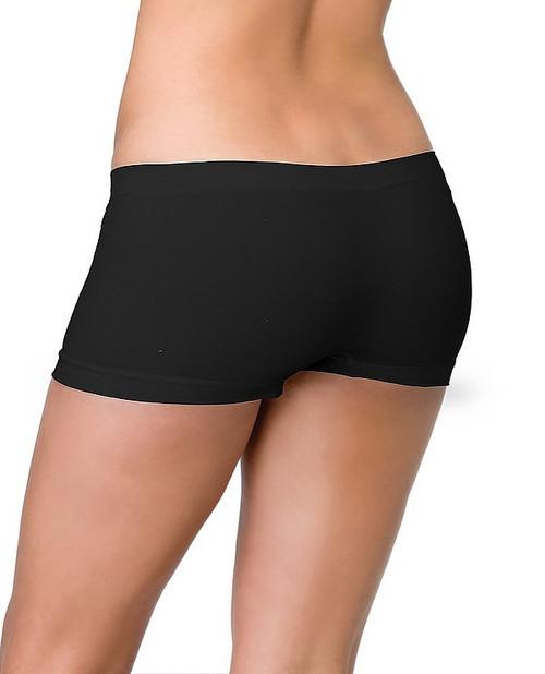 Shorts de Garçons sans Couture Noirs