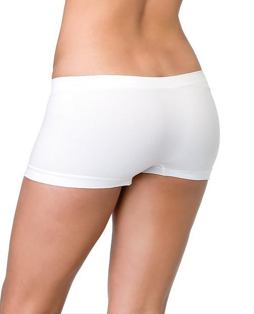 Shorts de Garçons sans Couture Blancs