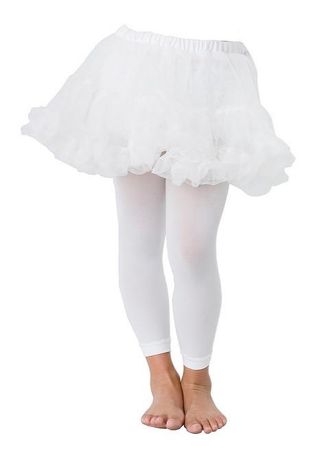 Petticoat enfants blancs