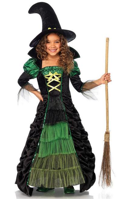 Costume de sorcière de livre d'histoire