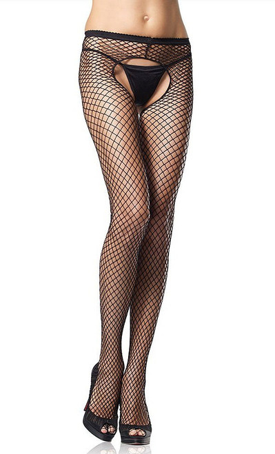 De plus net Crotchless Pantyhose