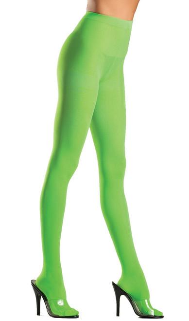 Collants Kelly en Nylon Vert