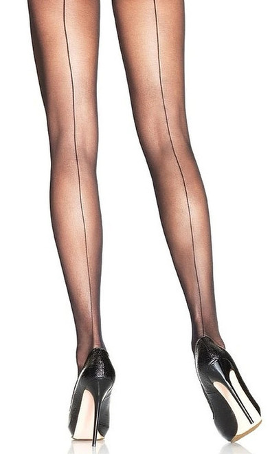 Collants Avec Simple Retour de Couture