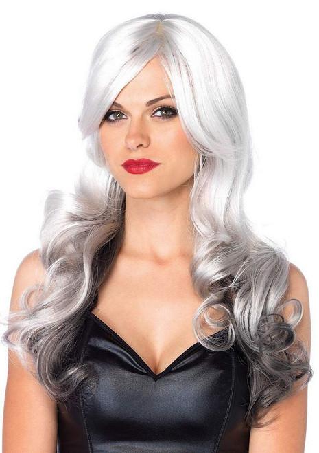 Allure perruque blanc / gris