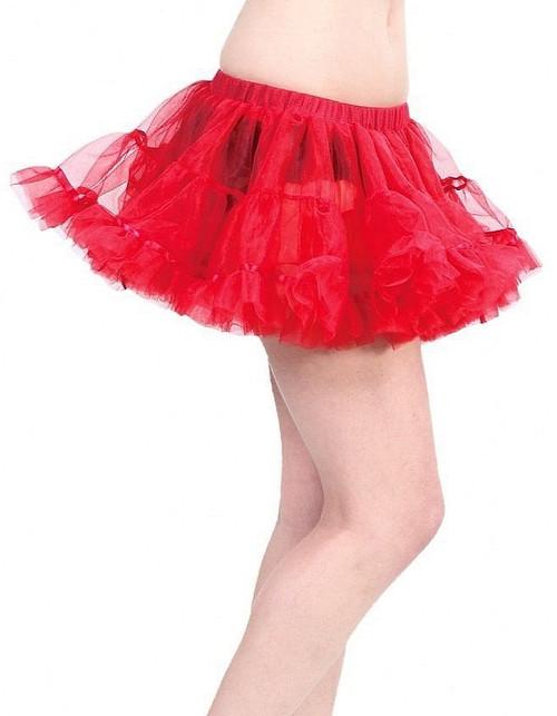 Mini Petticoat rouge
