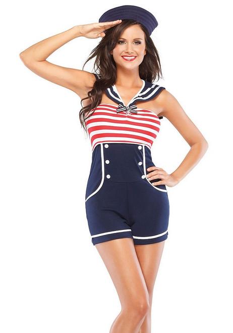 Costume de la Femme du Capitaine de Bord