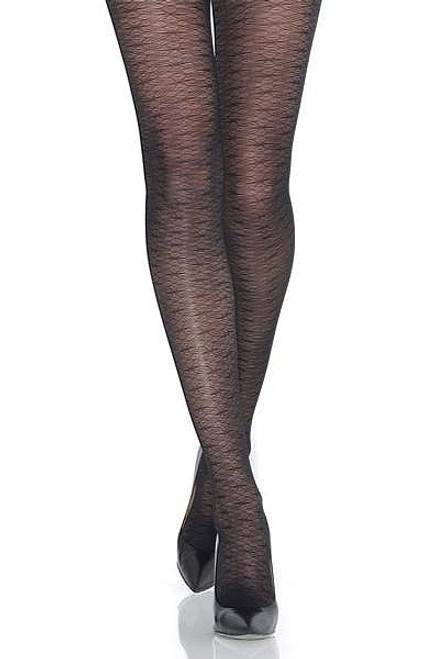 Dragonfly Motif Collants Mondor Noir