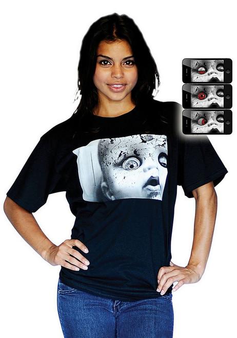 T-shirt Digital Dudz Poupée Glauque