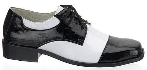 Chaussures de Jazz Noires et Blanches pour Homme