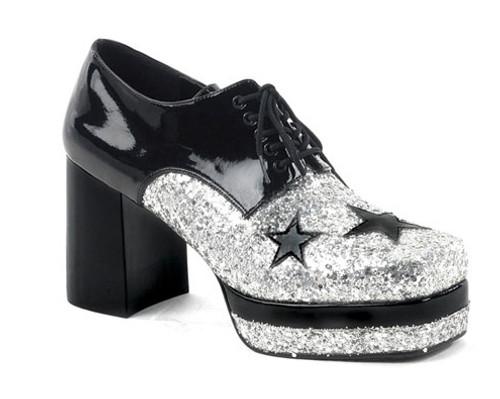 Glamrock Homme Chaussures Noir / Argent