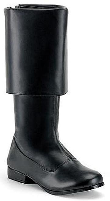 Pirate Man Boot Noir