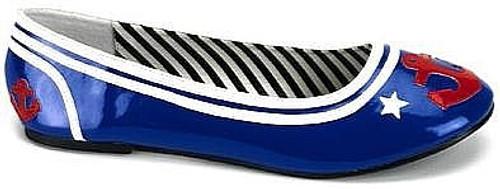 Bleu Chaussures Sailor