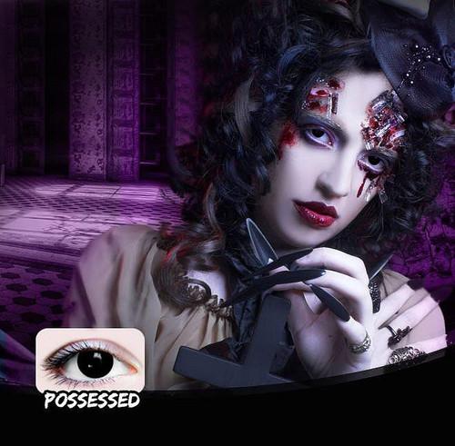 Lentilles de contact Possessed Noir
