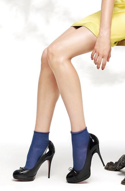 Philippe Matignon Cotton Blend Flou Socks Blu Urban